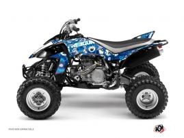 Kit Déco Quad Freegun Eyed Yamaha 450 YFZ Bleu