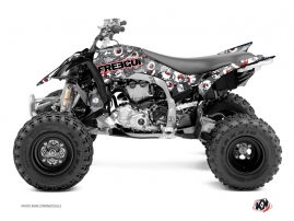 Yamaha 450 YFZ R ATV Freegun Eyed Graphic Kit Red