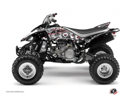 Yamaha 450 YFZ ATV Freegun Eyed Graphic Kit Red
