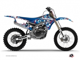 Kit Déco Moto Cross Freegun Eyed Yamaha 450 YZF Rouge