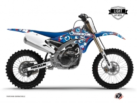 Kit Déco Moto Cross Freegun Yamaha 450 YZF Rouge LIGHT