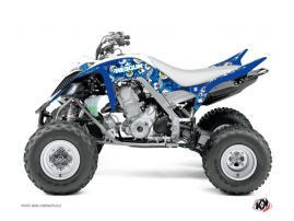 Yamaha 660 Raptor ATV Freegun Eyed Graphic Kit Blue