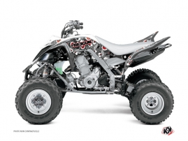 Kit Déco Quad Freegun Eyed Yamaha 660 Raptor Rouge