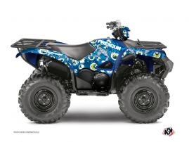 Kit Déco Quad Freegun Eyed Yamaha 700-708 Grizzly Bleu
