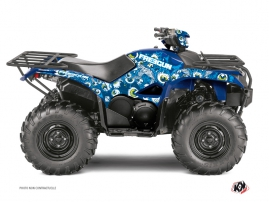 Yamaha 700-708 Kodiak ATV Freegun Eyed Graphic Kit Blue