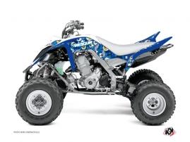 Kit Déco Quad Freegun Eyed Yamaha 700 Raptor Bleu