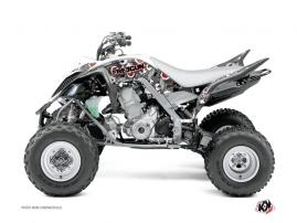 Kit Déco Quad Freegun Eyed Yamaha 700 Raptor Rouge