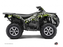 Kawasaki 750 KVF ATV Freegun Eyed Graphic Kit Green