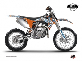 Kit Déco Moto Cross Freegun Eyed KTM 85 SX Orange LIGHT