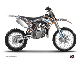Kit Déco Moto Cross Freegun KTM 85 SX Orange