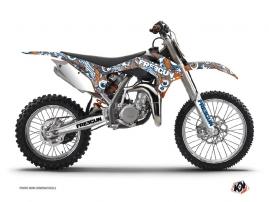 Kit Déco Moto Cross Freegun Eyed KTM 85 SX Orange