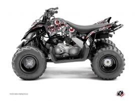 Kit Déco Quad Freegun Eyed Yamaha 90 Raptor Rouge