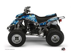 Yamaha Blaster ATV Freegun Eyed Graphic Kit Blue