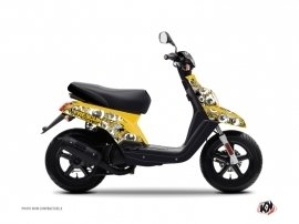 Kit Déco Scooter Freegun Eyed MBK Booster Jaune