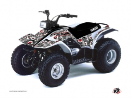 Yamaha Breeze ATV Freegun Eyed Graphic Kit Red