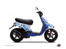 Yamaha BWS Scooter Freegun Eyed Graphic Kit Blue