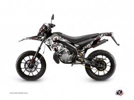 Kit Déco 50cc Freegun Eyed Derbi DRD Xtreme Gris Rouge