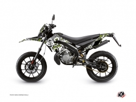 Derbi DRD Xtreme 50cc Freegun Eyed Graphic Kit Green