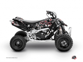 Can Am DS 650 ATV Freegun Eyed Graphic Kit Grey Red
