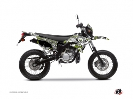 Yamaha DT 50 50cc Freegun Eyed Graphic Kit Green