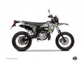 Kit Déco 50cc Freegun Eyed Yamaha DT 50 Vert