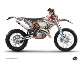 Kit Déco Moto Cross Freegun KTM EXC-EXCF Orange