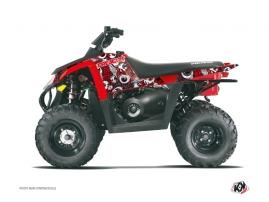 Kit Déco Quad Freegun Polaris Scrambler 500 Rouge Gris