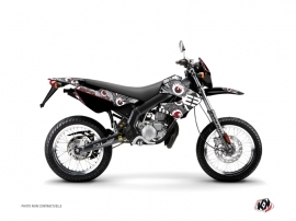 Derbi Xtreme / Xrace 50cc Freegun Eyed Graphic Kit Grey Red