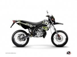 Kit Déco 50cc Freegun Eyed Derbi Xtreme / Xrace Vert