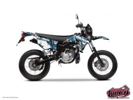 Kit Déco 50cc Freegun Yamaha DT 50 Bleu