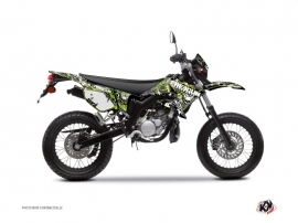 Yamaha DT 50 50cc Freegun Firehead Graphic Kit Green