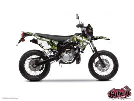 Kit Déco 50cc Freegun Firehead Yamaha DT 50 Vert