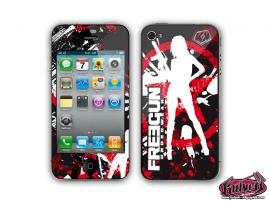 Kit Déco iPhone 4 Freegun Attack
