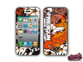 Kit Déco iPhone 4 Freegun Carp