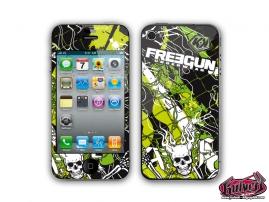 Kit Déco iPhone 4 Freegun Firehead