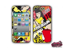 Kit Déco iPhone 4 Freegun Freegunman