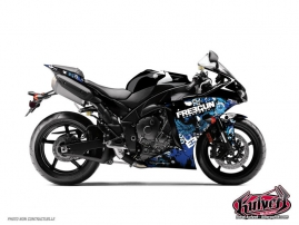 Yamaha R1 Street Bike Freegun Graphic Kit Headhake