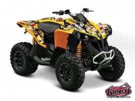 Can Am Renegade ATV Freegun Graphic Kit