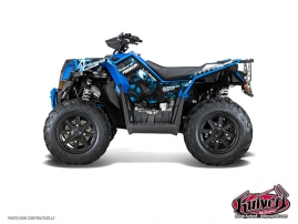 Kit Déco Quad Freegun Polaris Scrambler 850-1000 XP Bleu FULL