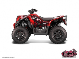 Kit Déco Quad Freegun Polaris Scrambler 850-1000 XP Rouge FULL