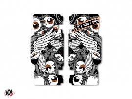 Kit Déco Grilles de radiateur Freegun KTM SX-SXF 2015 Gris Orange