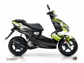 Yamaha Aerox Scooter Fun Graphic Kit Green
