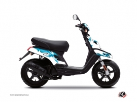 Yamaha BWS Scooter Fun Graphic Kit Blue