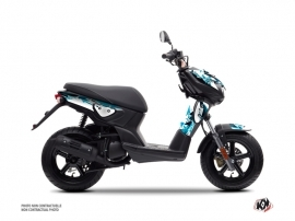 Yamaha Slider Scooter Fun Graphic Kit Blue