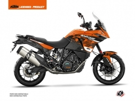 KTM 1190 Adventure Street Bike Gear Graphic Kit Orange