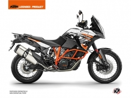 Kit Déco Moto Gear KTM 1290 Super Adventure R Blanc