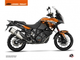 KTM 1290 Super Adventure S Street Bike Gear Graphic Kit Orange