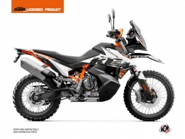KTM 790 Adventure R Street Bike Gear Graphic Kit White