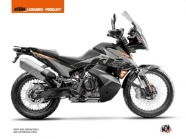 KTM 790 Adventure Street Bike Gear Graphic Kit Grey Orange