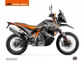 Kit Déco Moto Gear KTM 890 Adventure R Gris Orange